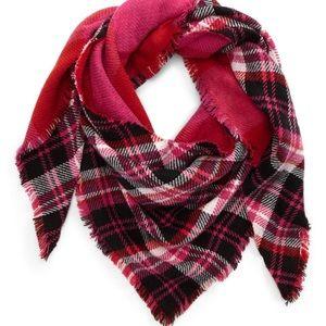 Nordstrom BP reversible blanket scarf